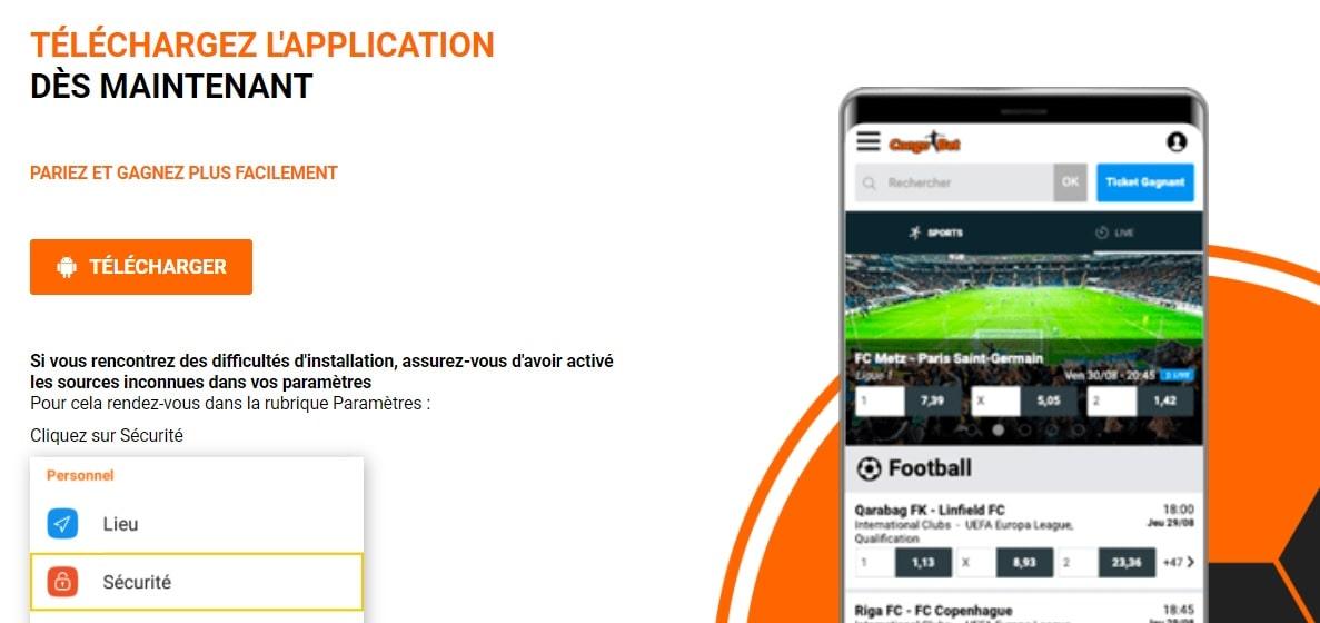 congobet application